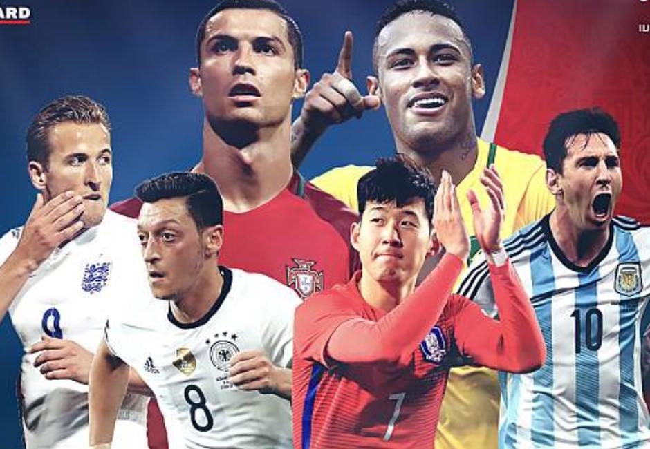 世足32國「GG尺寸榜」出爐!C羅、梅西在更衣室裡被冰島屌打