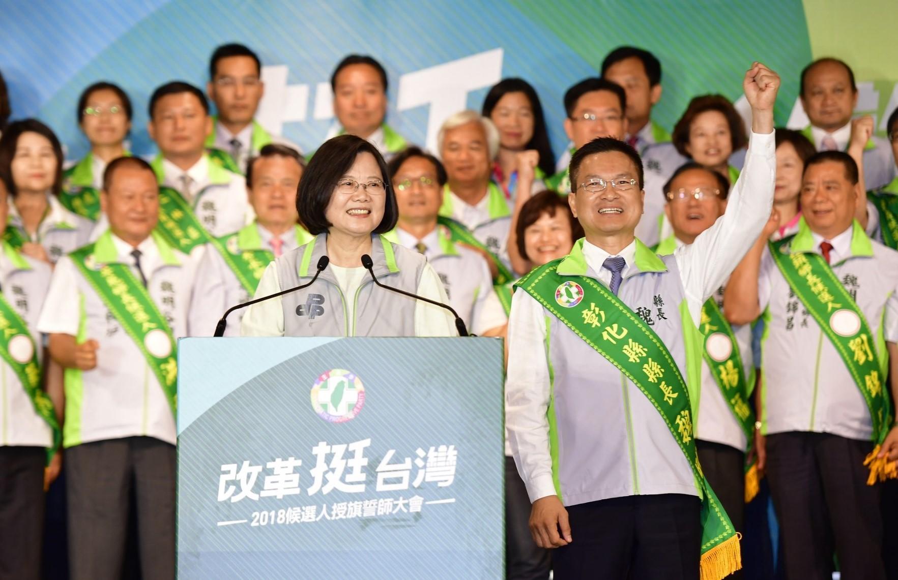 選戰溫度計/吳音寧外溢效益讓小英也緊張?綠營中台灣選情告急