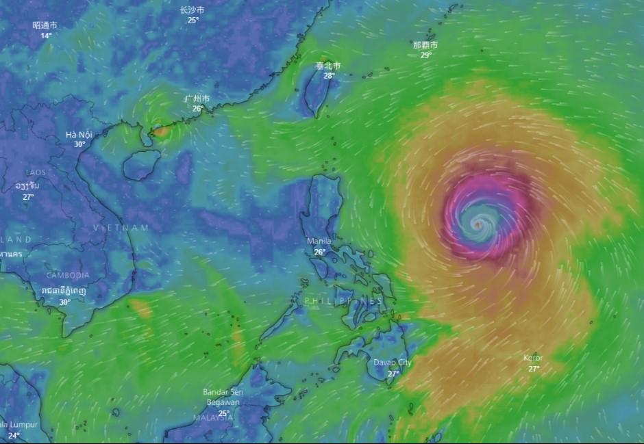 山竹颱風估橫掃南台灣!是否「直撲而來」這一天是關鍵