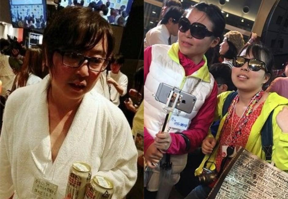 「假陸客」出沒日本超廢萬聖節 台網友笑瘋:87%精髓出來了