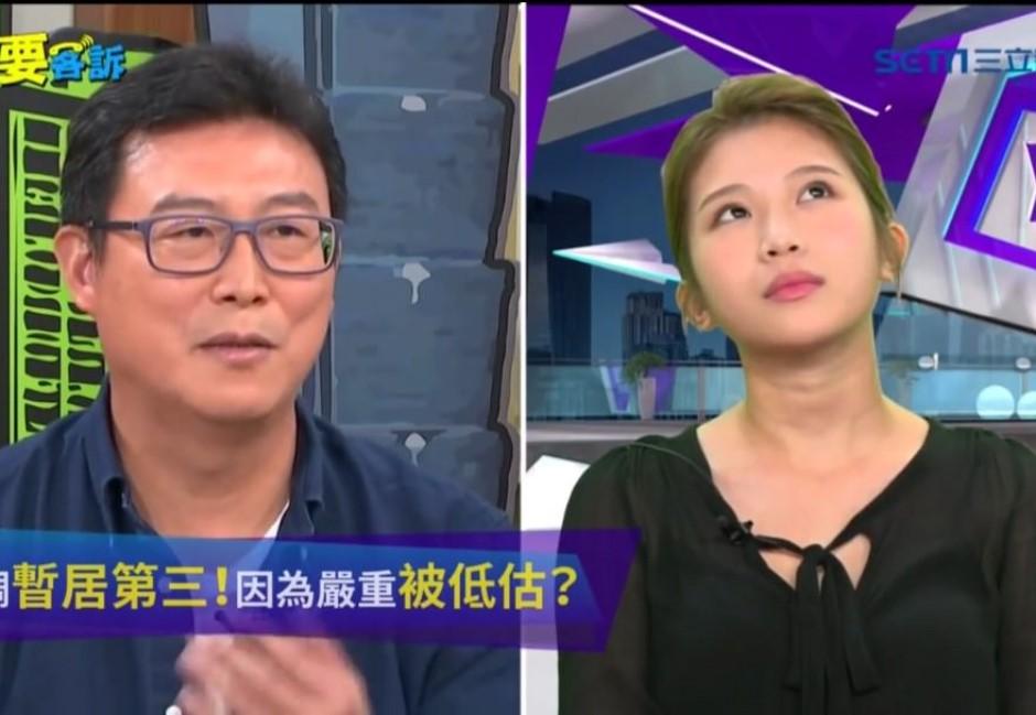 糗片/雞排妹嗆到姚文智臉逐漸母湯 網友讚:出來選就投她!