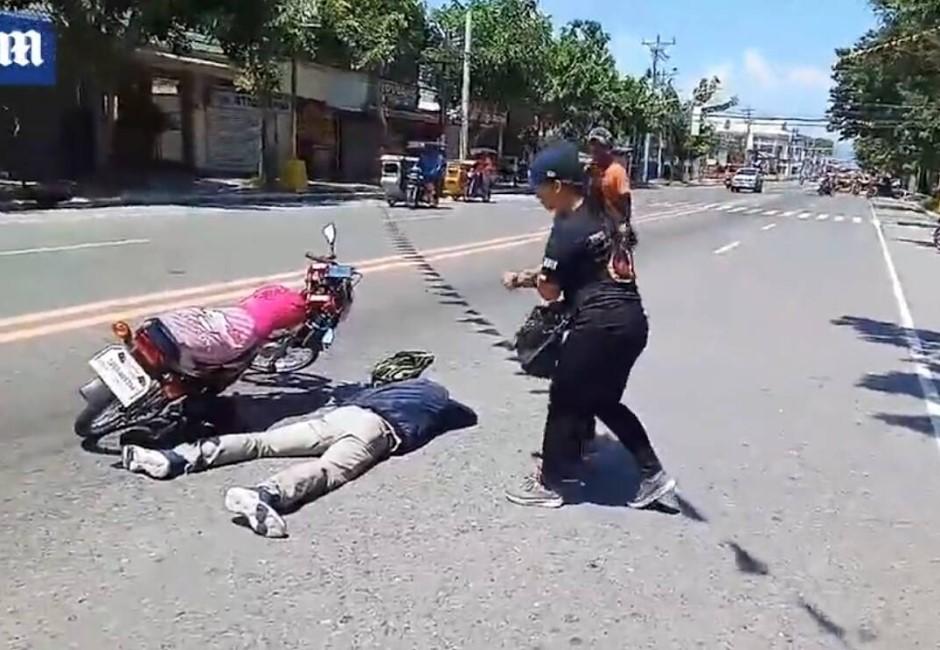 驚聞男友車禍橫死街頭 女友衝現場看到「屍體」樂瘋了!