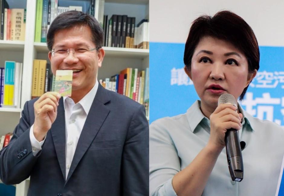 台中當選率出現黃金交叉!國民黨大會師後 盧秀燕首次領先林佳龍