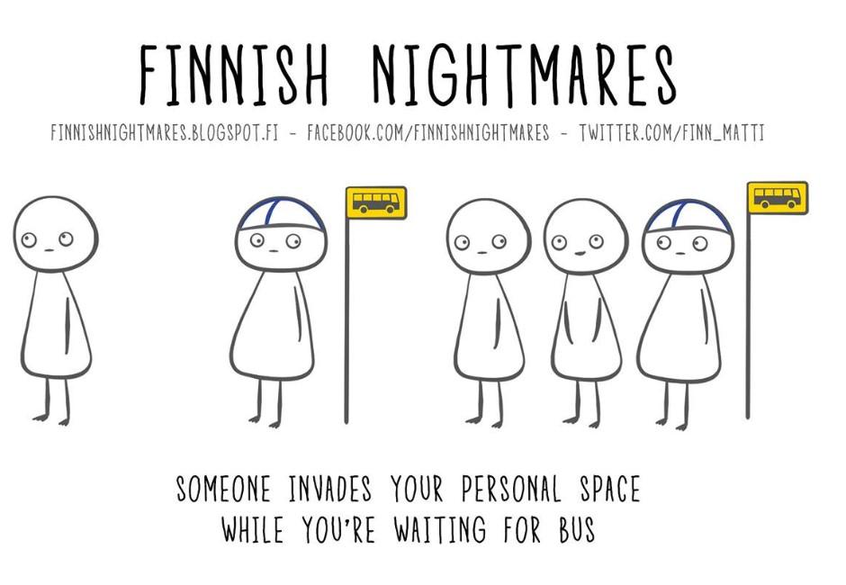 社交恐懼者的天堂!「1.9公尺排隊距離」是芬蘭人不打擾的溫柔