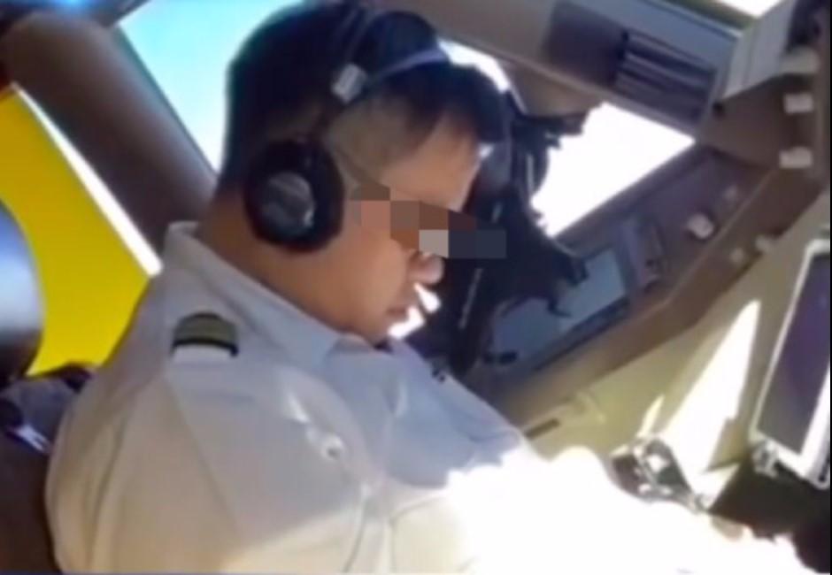 影片曝光!華航機師開飛機「開到睡著」嚇壞網友