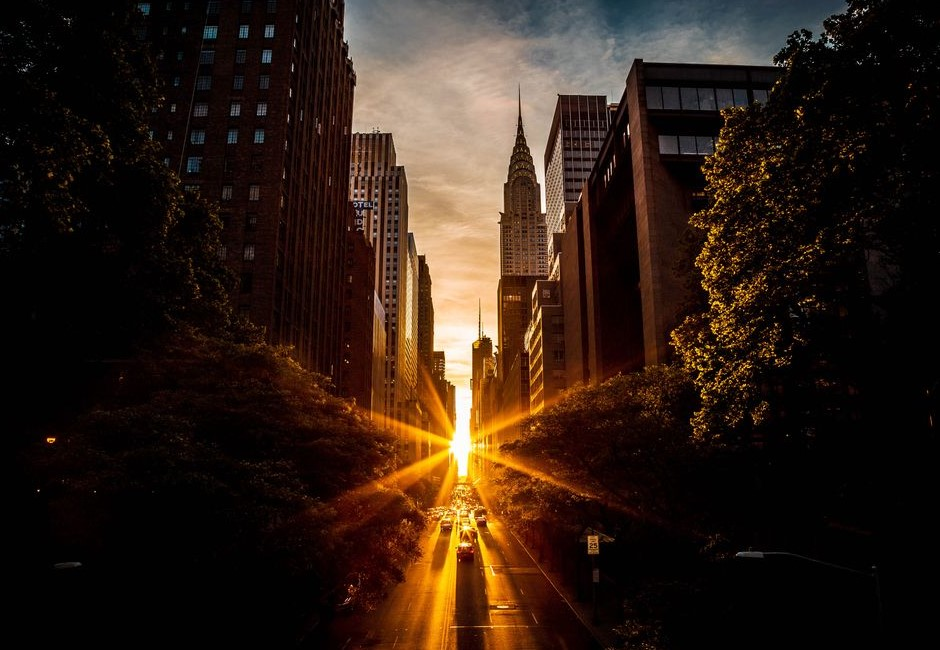 快筆記!神仙美景「曼哈頓懸日」台灣再現預報 5大地點帶你一睹奇景