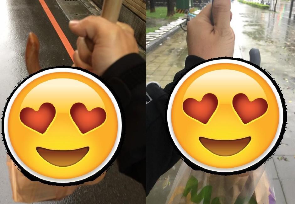 網友狂推雨天手把傘神便利功能!老司機笑:下一秒馬上悲劇