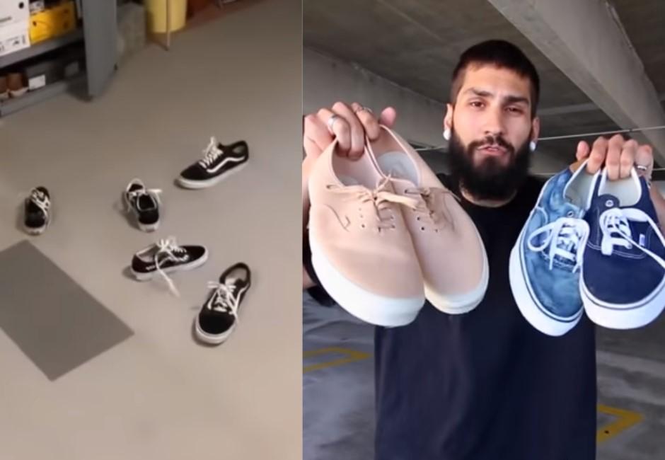 這什麼巫術!國外Vans鞋挑戰為何怎麼丟都「正面朝上」?