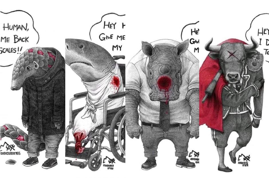 「為什麼要一直強迫我懷孕?」這幾張插畫告訴你人類有多殘忍