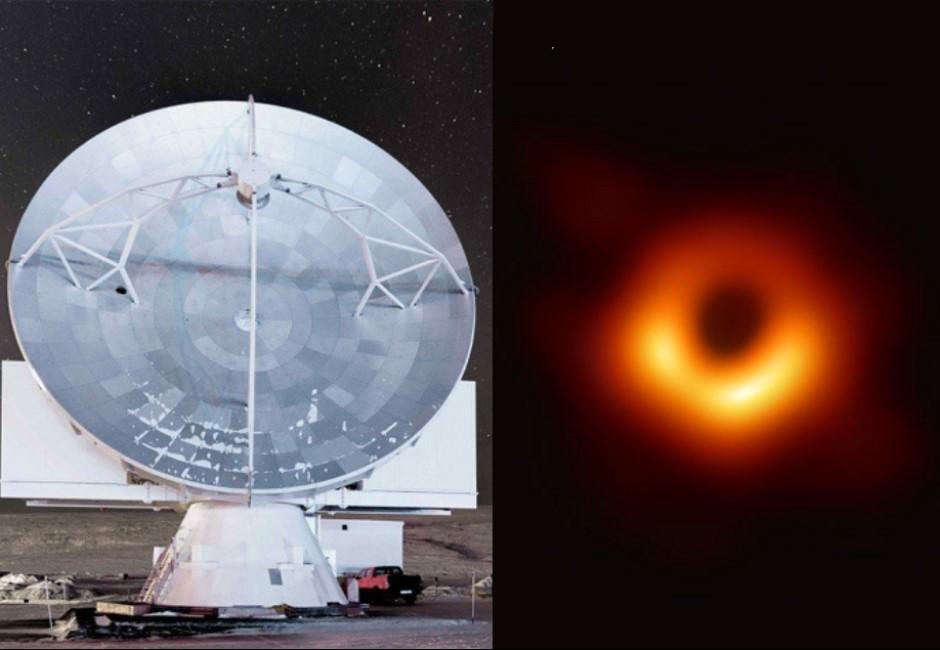 拍黑洞照的望遠鏡「口徑如地球大」!科學家是怎麼辦到的?