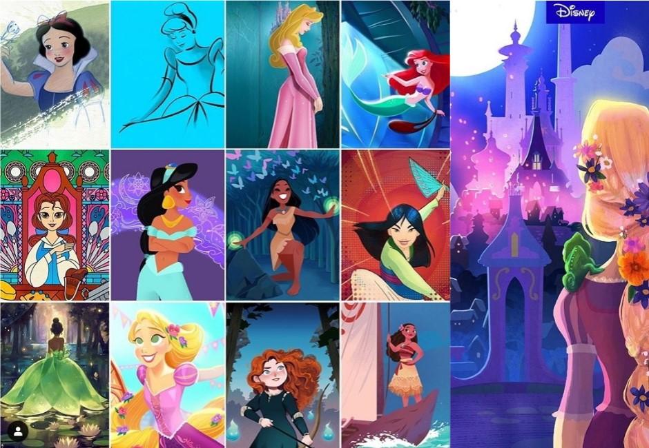 星座/迪士尼官方給答案 12星座代表公主是她們!