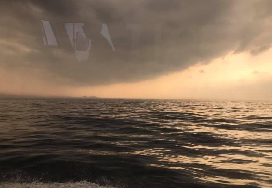 基隆外海憑空出現「黑色大島」!老司機興奮:百年難得一見