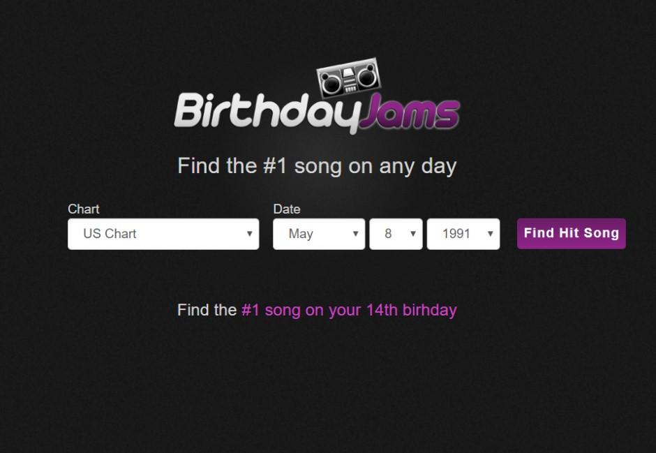 你誕生時大家都在聽什麼?這網站能找到專屬於你的生日旋律!