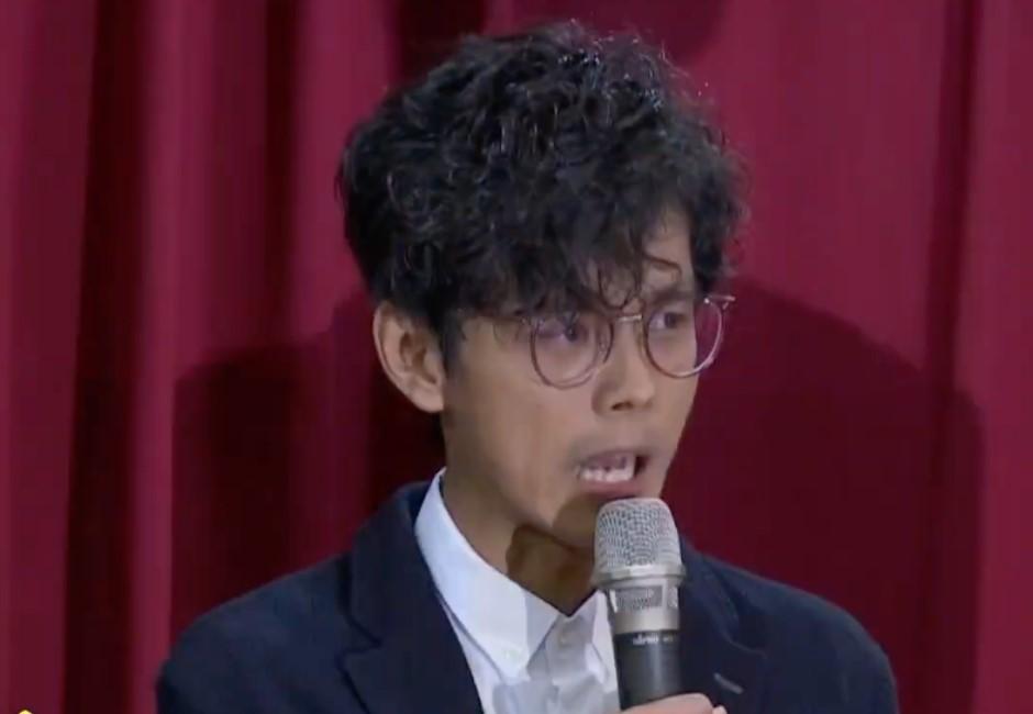 快訊/偷忻熱吻被罵爆 阿翔二度記者會哭歉:跟家人永遠在一起