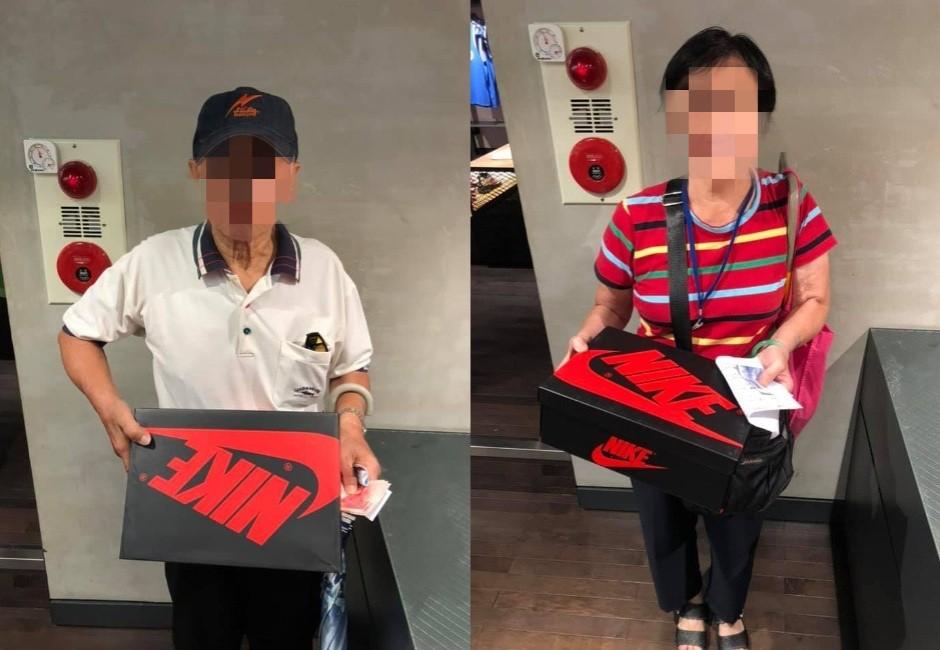 店家拍潮牌限量球鞋得獎者 清一色老人網酸「客群7、80歲」