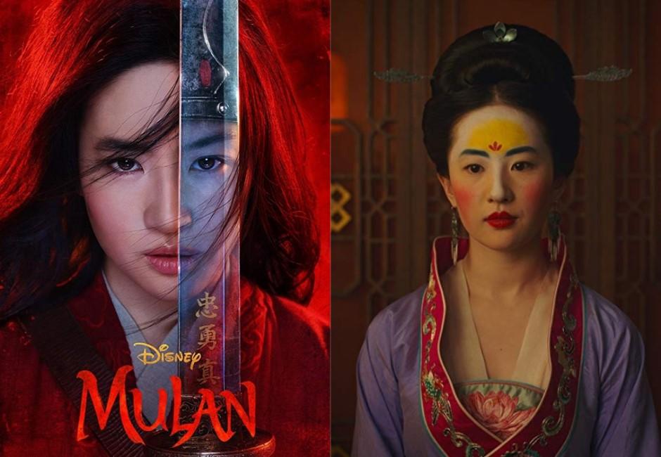 《花木蘭》劉亦菲「黃額紅臉」醜翻!這妝竟是神還原南北朝時尚?