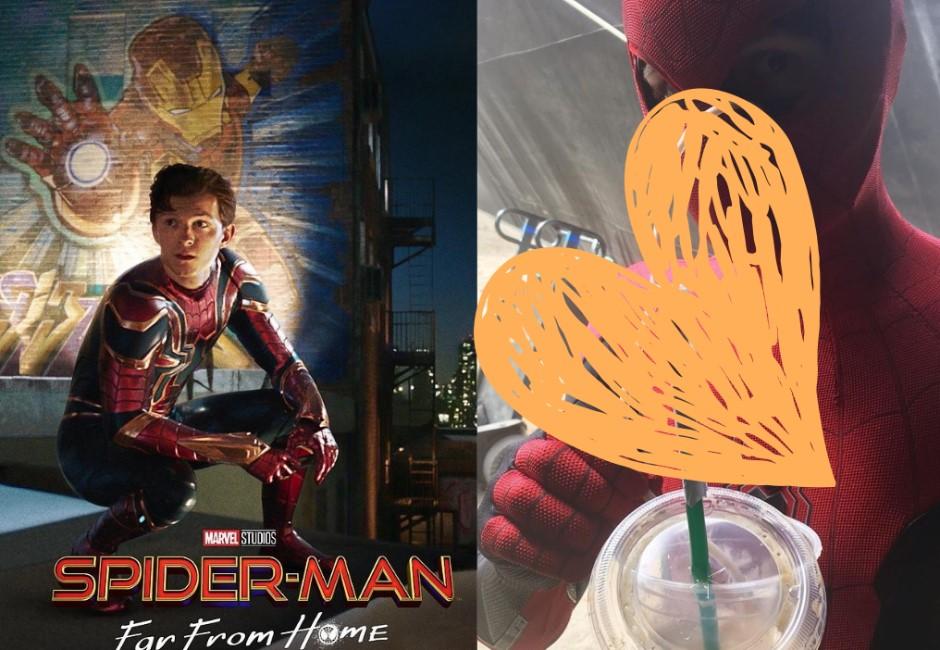 當蜘蛛人要怎麼喝咖啡?湯姆霍蘭德神招展現超專業喝法!
