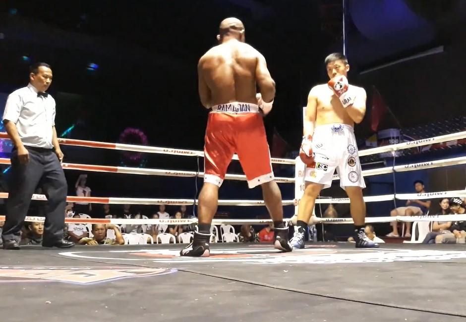 練喻軒又被起底!WBC冠軍戰「屁孩式挑釁」…一拳秒被擊倒