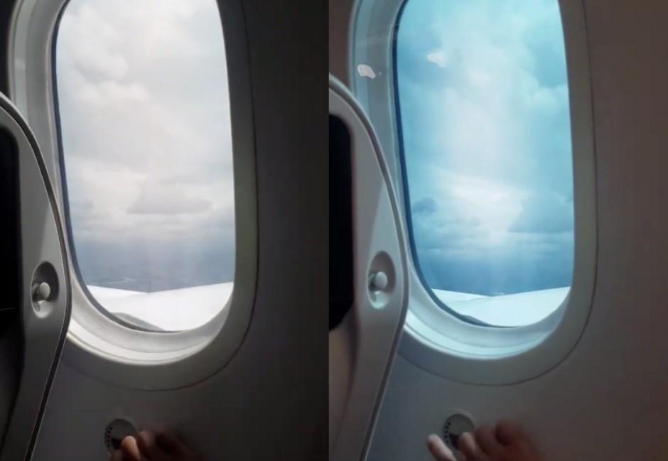 飛機窗下神秘按鈕功能超神奇!網羨慕:「夢幻客機787」才有…
