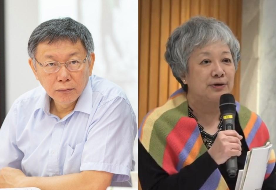 蔣渭水後代不爽了!柯文哲組台灣民眾黨 她酸:往臉上貼金?