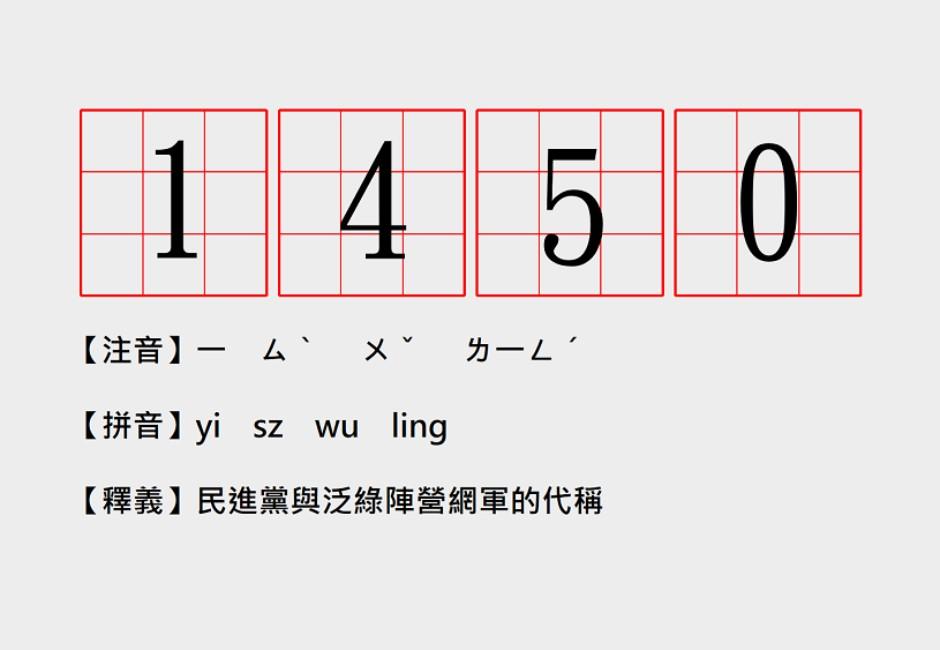 「1450」的真正意思是什麼?一張圖看懂緣由於此