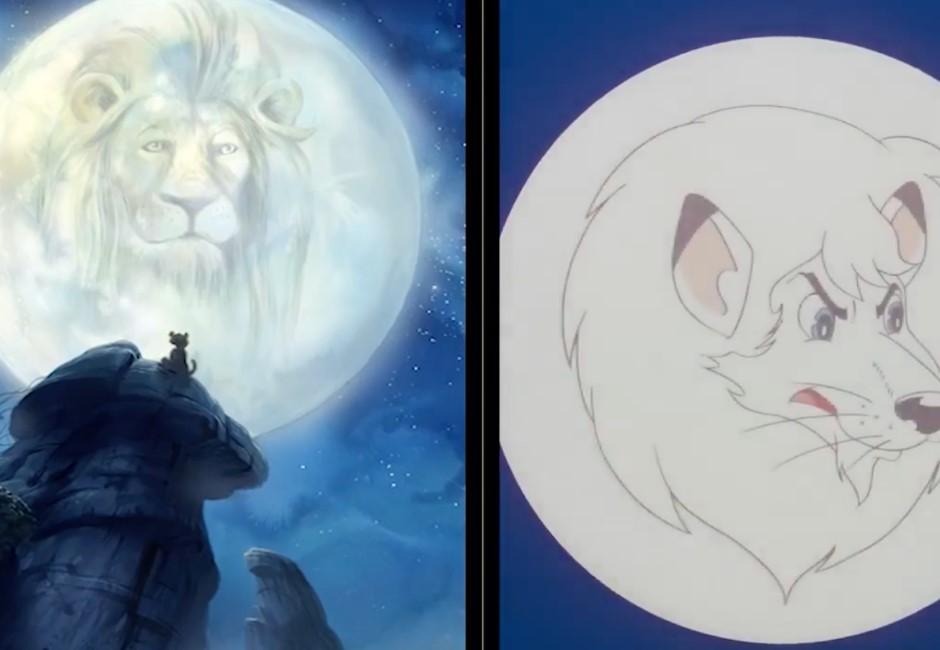 影/這樣你敢說巧合?帶你一窺美日獅子王抄襲事件簿!