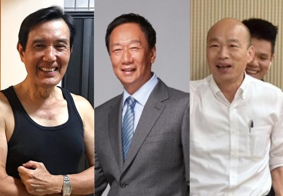聲量戰報/郭台銘一退黨立刻幹掉蔡英文 馬、韓抱一下沒心結了?