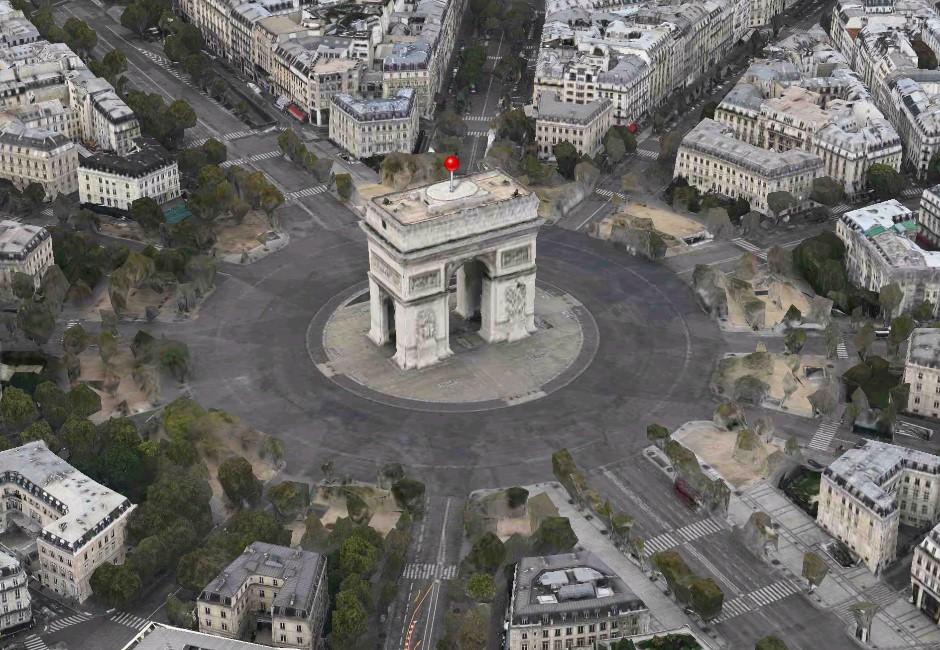 蘋果地圖更新5大功能!3D街景、鳥瞰圖迎戰谷歌地圖!