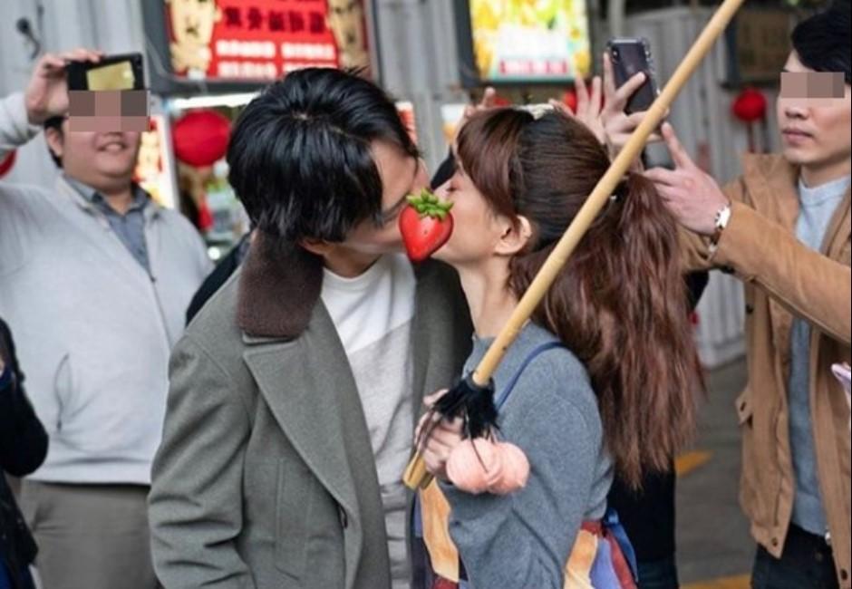 白癡公主IG手滑po親密照 臉紅熱吻曝光對象竟是他