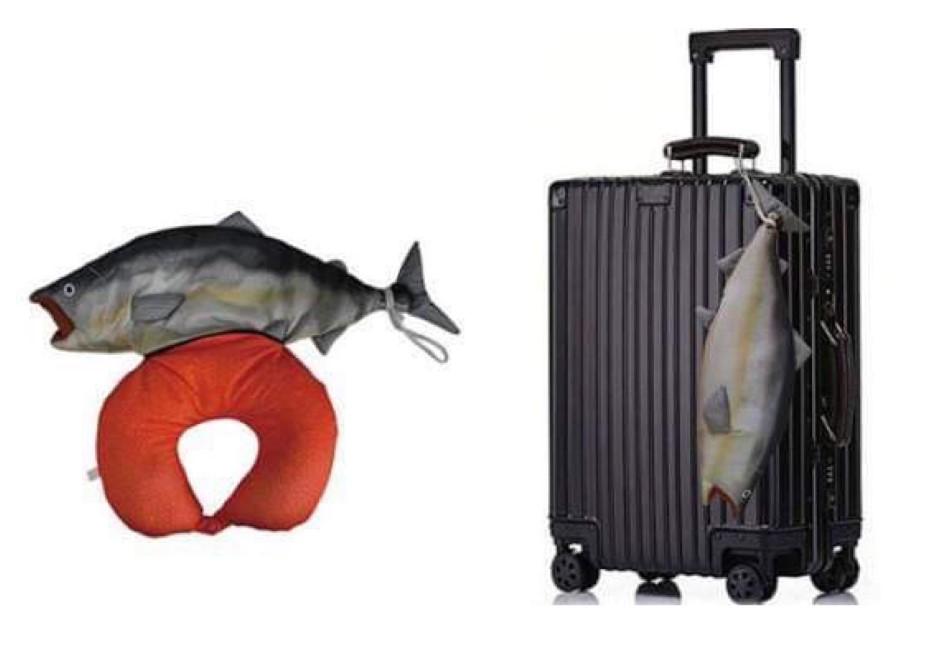 超殘忍但好想要!日推獵奇系頸枕「鮭魚腸子」挖出來瞬間紓壓