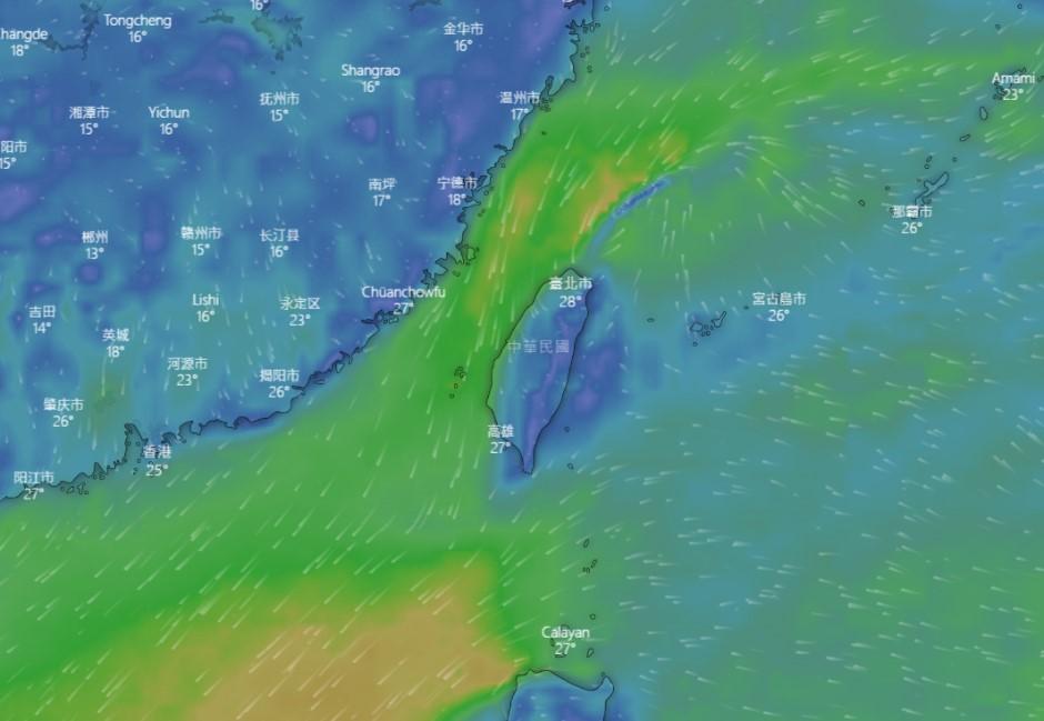 好天氣只有一天!一張圖看懂北台灣一周天氣