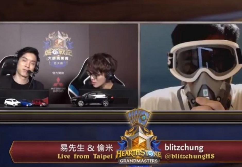 香港電競選手蒙面高喊「8字宣言」!遭禁賽一年、獎金歸0