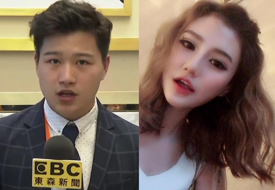 弟弟劈學姊、姊姊當小三?黃瀞瑩擁吻的記者新男友到底是誰