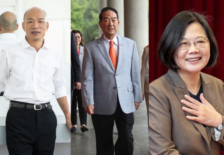 宋楚瑜參選衝擊選情  宋票倉在關鍵中部游移選區