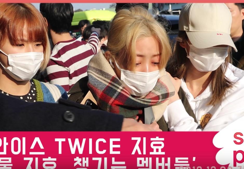 「慘摔畫面曝光」…志效痛哭JYP嗆粉:再有下次就提告!