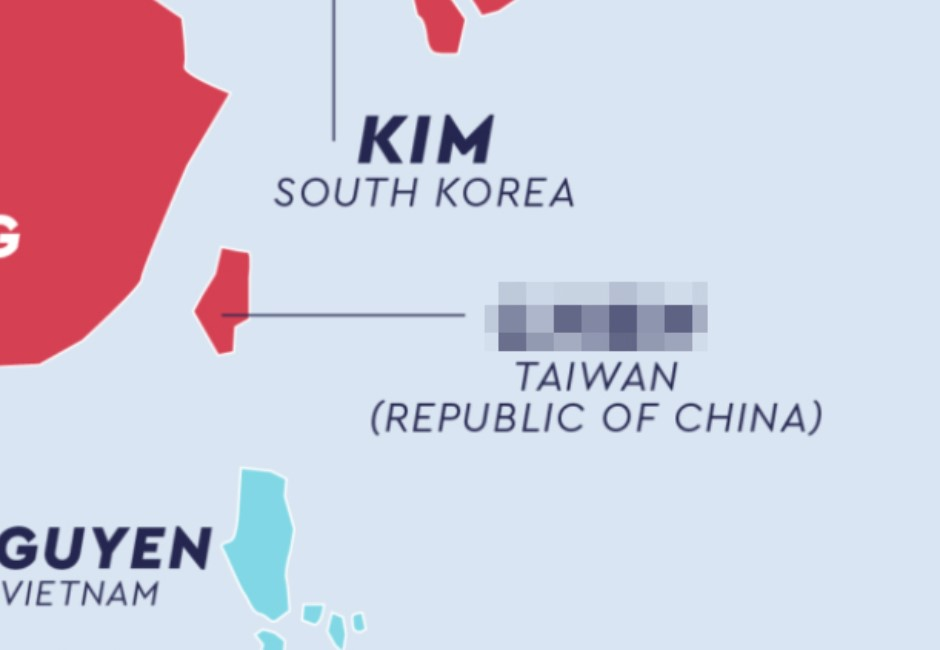 全球最常見姓氏都在這張圖!台灣每十個人就有一個是「菜市場姓」