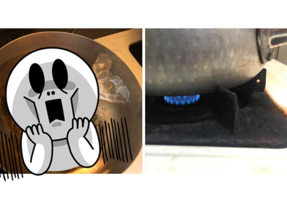 老公「隔水加熱」煮麵 人妻傻眼PO文出賣:能吃嗎?