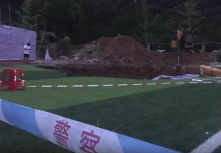16年懸案破了!國中操場埋男屍 因豆腐渣工程「被消失」