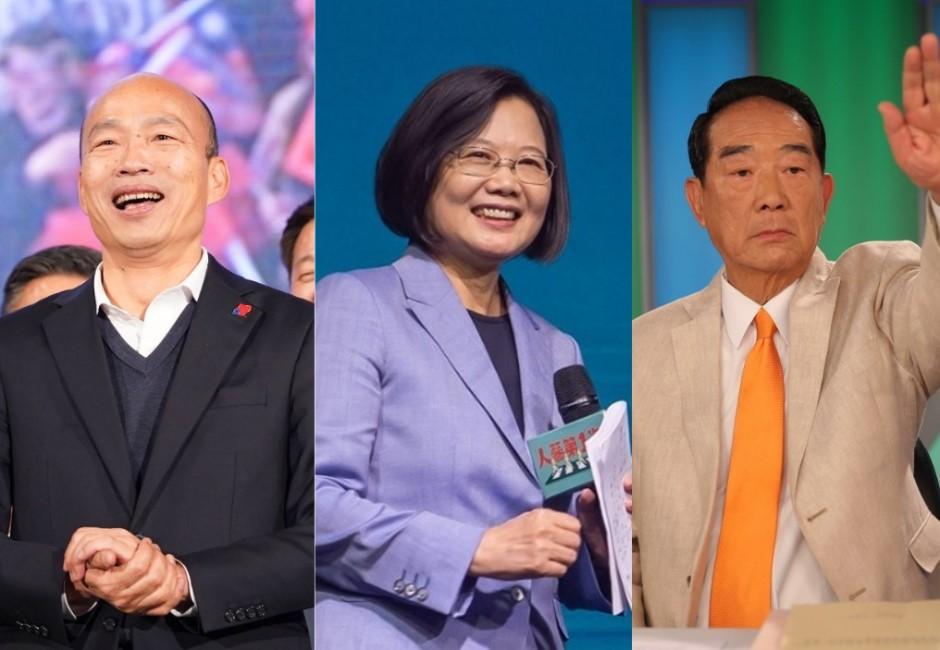 黑鷹失事、凱道飆人氣…封關十天蔡英文、韓國瑜網路聲量揭秘!
