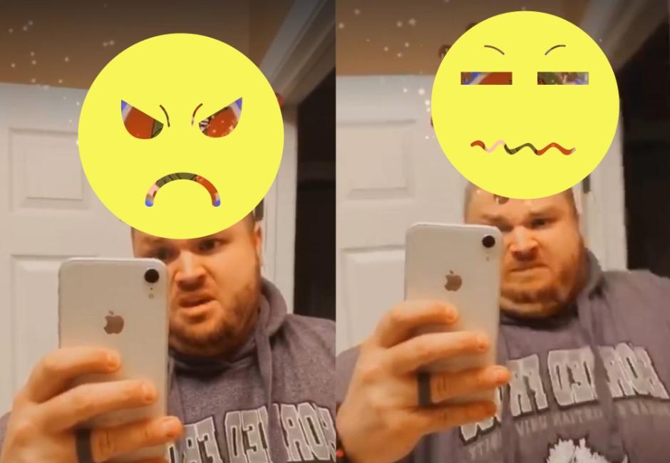 誠實錯了嗎?網紅玩IG迪士尼濾鏡…連7次都丑角他崩潰到哭!