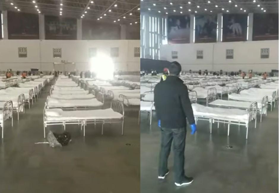 武漢肺炎患者遽增!中國急蓋醫院…裝潢曝光網驚呆「根本集中營」