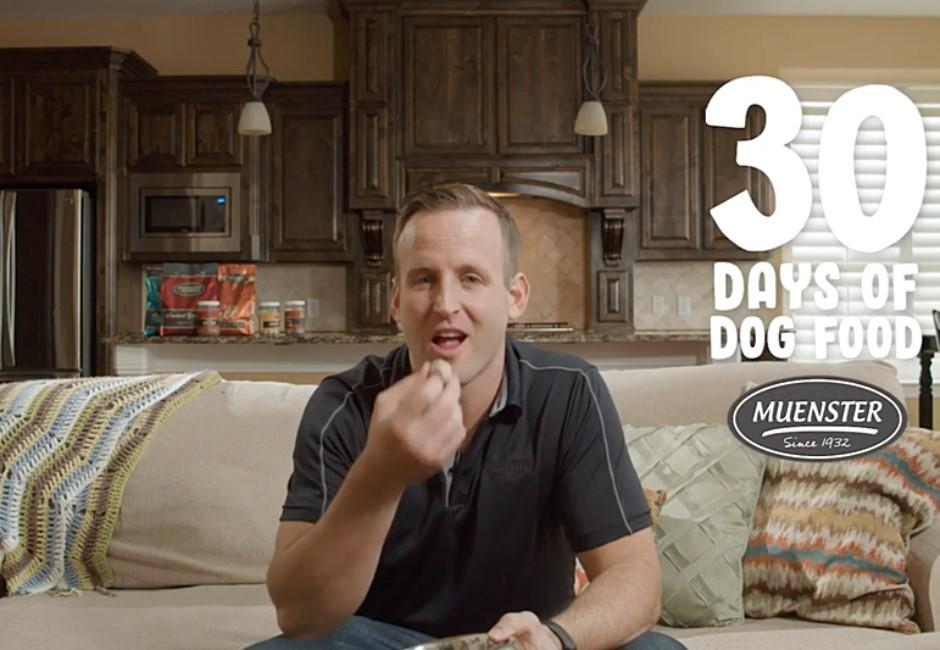 CEO為推薦自家狗糧「連吃一個月」!身體變化驚呆網友