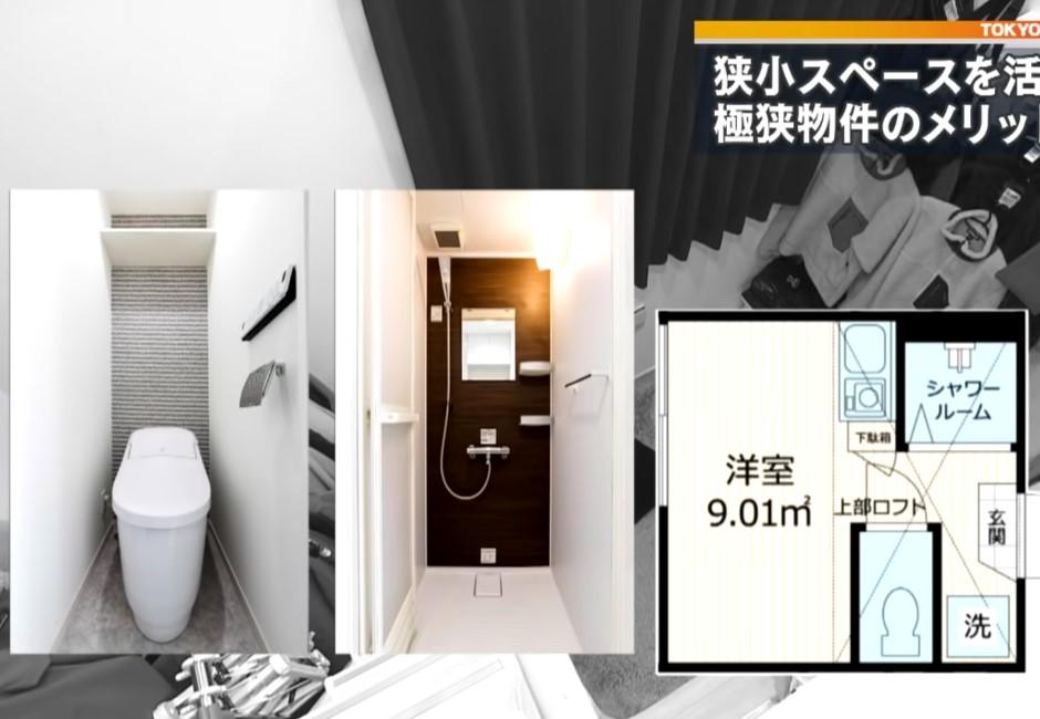 影/日本年輕人極狹窄公寓曝光!網友:也太小,是要跟香港比慘?