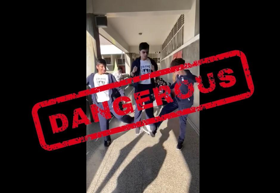 片/一定要廣傳!青少年間流行的「三人跳挑戰」可致命!