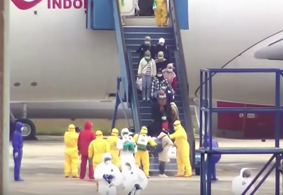 印尼撤僑竟「零檢測」!官員回應:有症狀者才需驗