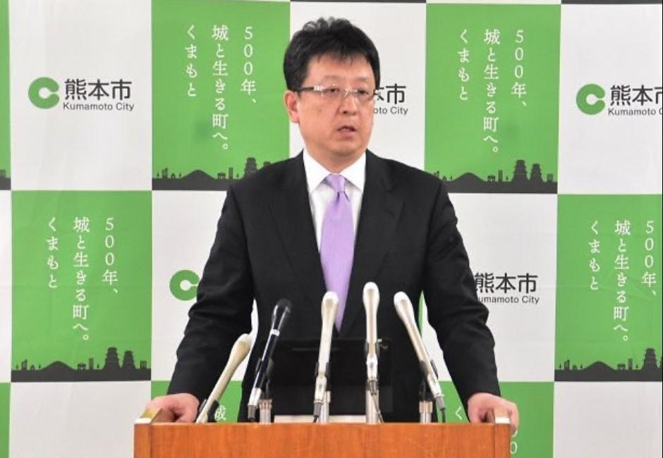 熊本疫情緊張!市長討拍罵「武漢肺炎大笨蛋」網:熊本熊本尊?