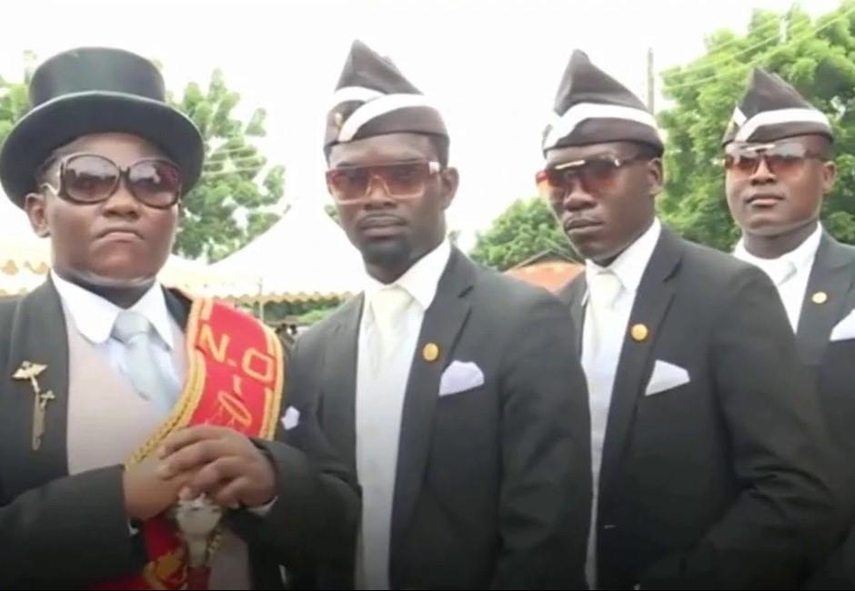 「黑人抬棺」影片是什麼哏?迷因緣由於此