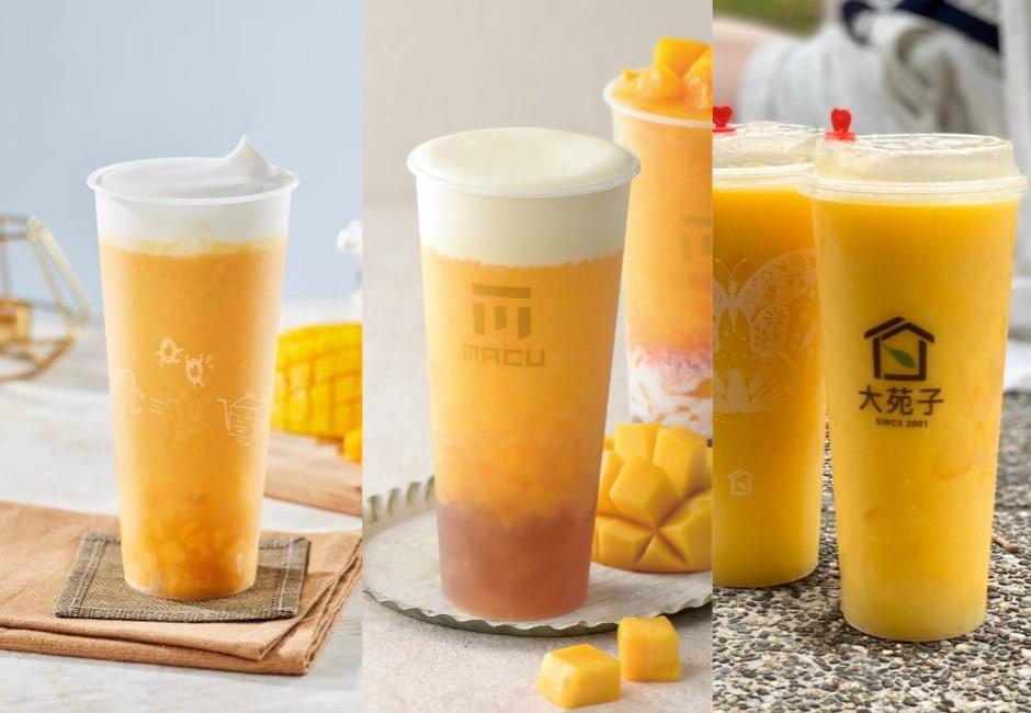 高溫來襲消暑必備  三大清涼手搖飲給你滿滿「芒果大平台」