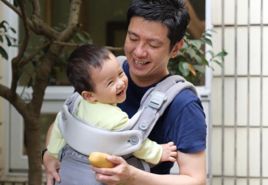 影/當心影響寶貝發育!醫師揭「幼兒揹帶挑選5神訣」