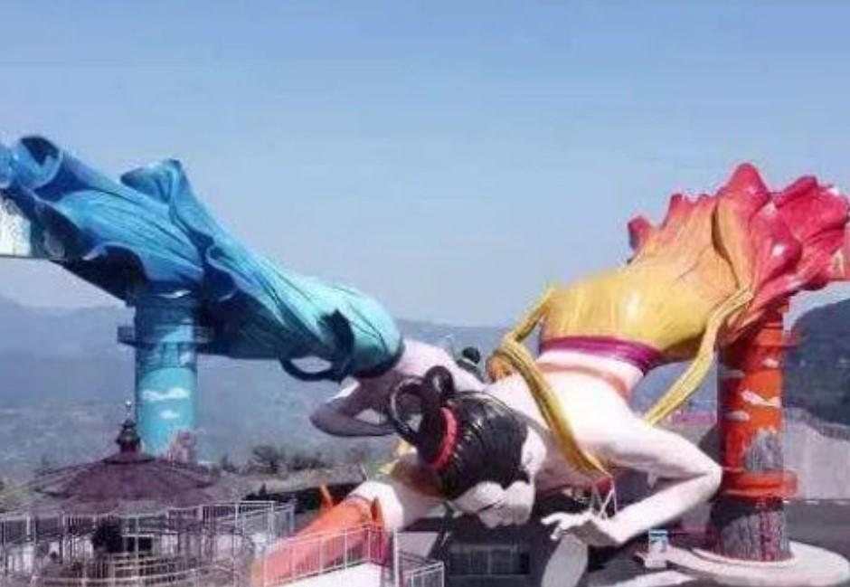 不只重慶新景點「飛天之吻」醜歪網友這些中國奇葩建築也很母湯